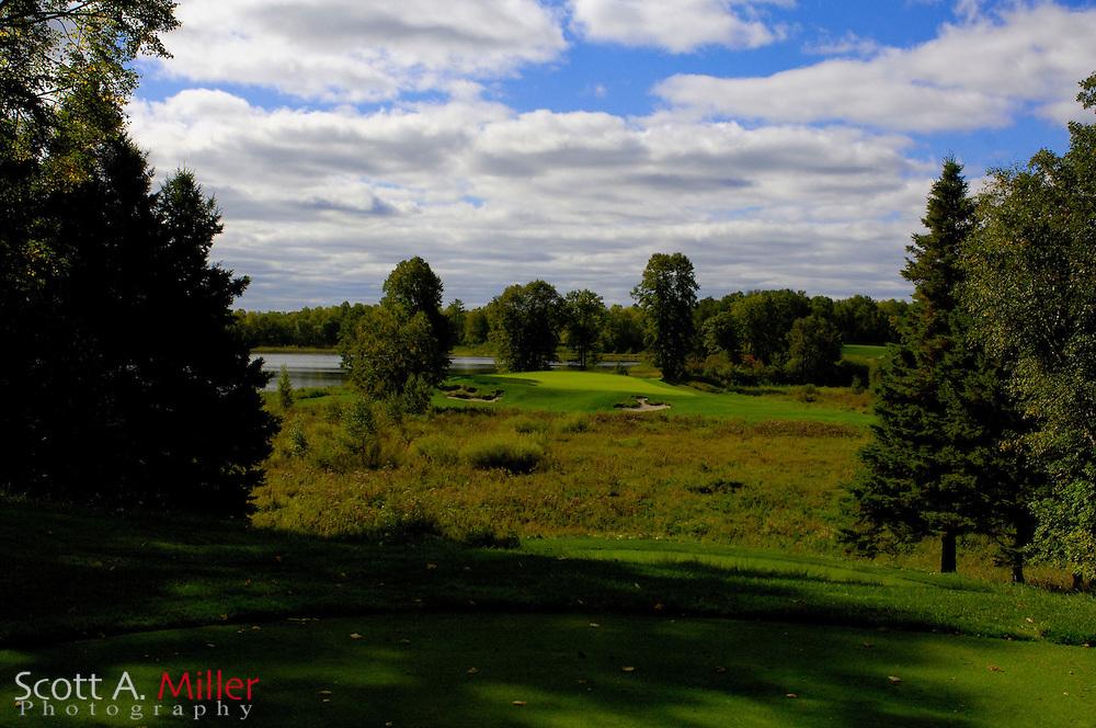 Sept. 19, 2006; Brainerd, Minn., USA; XXXX hole on Golden Eagle GOlf Club part of the Brainerd Golf Trail in Minnesota..Mandatory Credit: Photo by Scott A. Miller (??) Copyright 2006 by Scott A. Miller