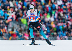 24.02.2019, Seefeld, AUT, FIS Weltmeisterschaften Ski Nordisch, Seefeld 2019, Nordischen Kombination, Teambewerb, Langlauf, im Bild Antoine Gerard (FRA) // Antoine Gerard of France during the cross country for the team competition Nordic Combined of FIS Nordic Ski World Championships 2019. Seefeld, Austria on 2019/02/24. EXPA Pictures © 2019, PhotoCredit: EXPA/ Stefan Adelsberger