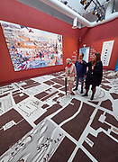 "FREESPACE - 16th Venice Architecture Biennale. Crimson Architectural Historians, ""A City of Comings and Goings""."