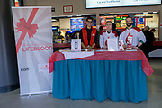 KELOWNA, CANADA - FEBRUARY 12:  Canadian Blood Services at the Kelowna Rockets game on February 12, 2018 at Prospera Place in Kelowna, British Columbia, Canada.  (Photo By Cindy Rogers/Nyasa Photography,  *** Local Caption ***