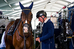 Bruggink Gert Jan, NED, Vampire<br /> Knokke 2018 Summer Circuit week 2<br /> © Hippo Foto - Sharon Vandeput<br /> 13/07/18