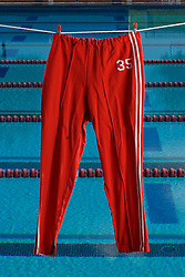Stanford swim warm up pants