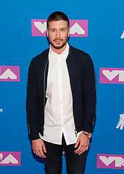 August 21, 2018 - New York City, New York, USA - 8/20/18.Vinny Guadagnino at the 2018 MTV Video Music Awards at Radio City Music Hall in New York City. (Credit Image: © Starmax/Newscom via ZUMA Press)