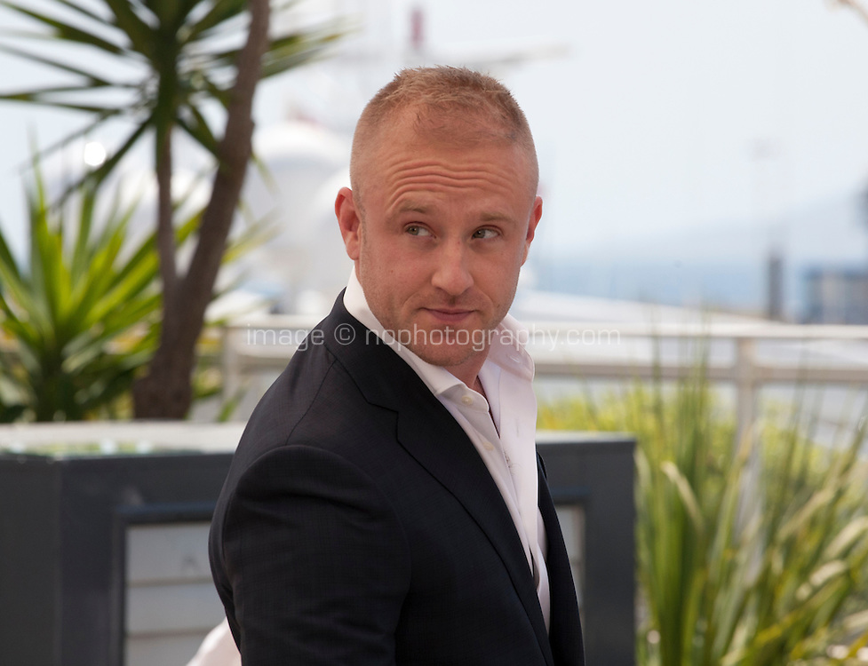 Actor Ben Foster at the Hell Or High Water film photo call at the 69th Cannes Film Festival Monday 16th May 2016, Cannes, France. Photography: Doreen Kennedy