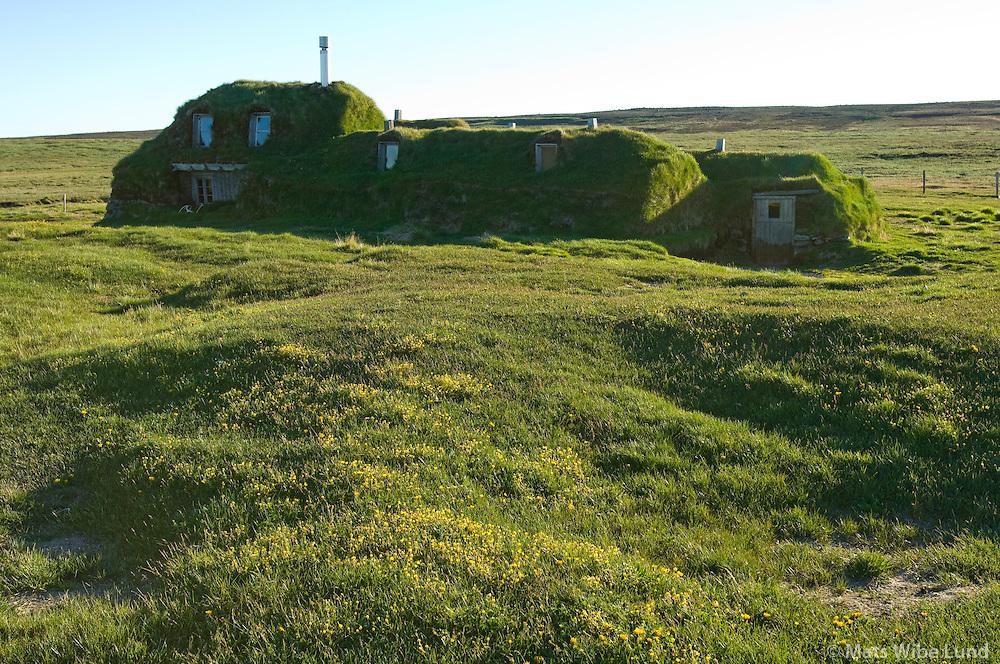 Sænautasel, Fljótsdalshérað áður Jökuldalshreppur / Saenautasel old farm in the highlands, Fljotsdalsherad former Jokuldalshreppur