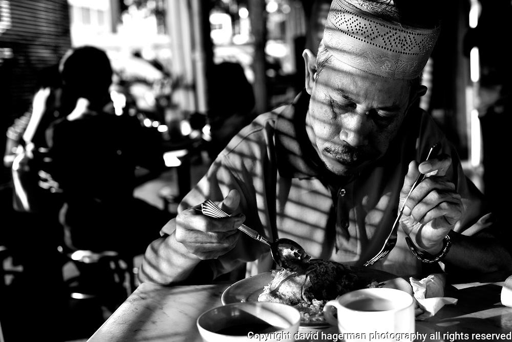 Dinner in Kuching, Sarawak, Malaysia