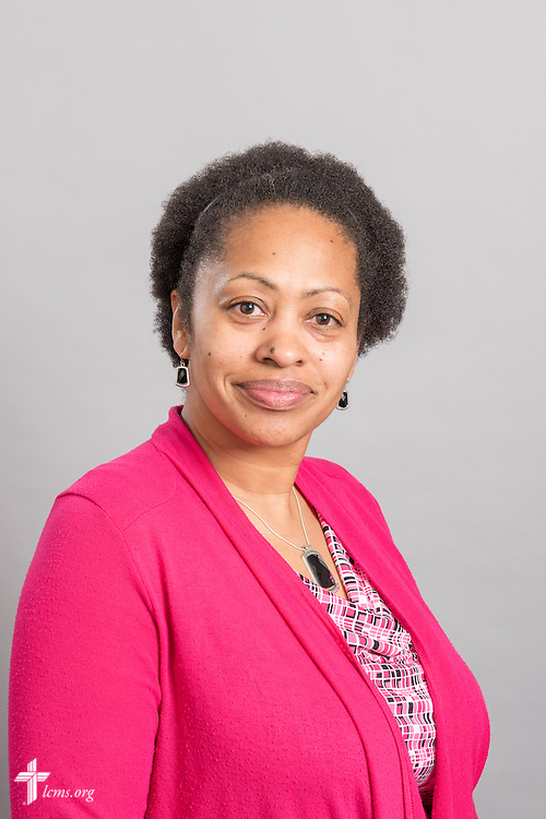 Headshot photograph of Chandra Thurman at the International Center of The Lutheran Church–Missouri Synod studio on Monday, March 30, 2015. LCMS Communications/Erik M. Lunsford