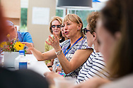 Bill Thoet of Booz Allen Hamilton at the lunchtime Roundtable: Baroness Susan Greefield/On Alzheimer's and the Aging Brain at the 2015 Aspen Ideas Festival in Aspen, CO. ©Brett Wilhelm