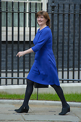 Nicky Morgan, takes over as Financial Secretary to the Treasury and Minister for Equality and Women arrives at Downing Street.  Wednesday, 9th April 2014. Picture by Anthony Upton / i-Images