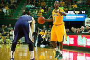 WACO, TX - JANUARY 11: Kenny Chery #1 of the Baylor Bears brings the ball up court against the TCU Horned Frogs on January 11, 2014 at the Ferrell Center in Waco, Texas.  (Photo by Cooper Neill/Getty Images) *** Local Caption *** Kenny Chery