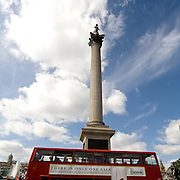 Trafalgar Square is one of the most famous squares in the United Kingdom and the world. commemorates the Battle of Trafalgar, a British naval victory of the Napoleonic Wars. At its centre is Nelson's Column
