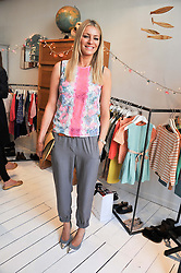 TESS DALY at the launch of the Natalia Dress, inspired by Natalia Vodianova to benefit her Naked Heart Foundation held at Caramel Baby&Child, 77 Ledbury Road, London W11 on 16th May 2012.