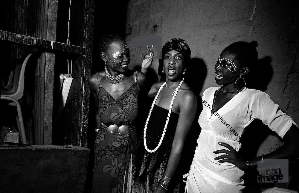 Fela Kuti's Wives at the Shrine - Lagos