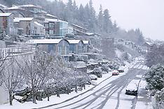 Queenstown-Snow blankets Central Otago