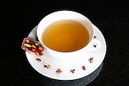 Pomegranate Loukumi & Tea