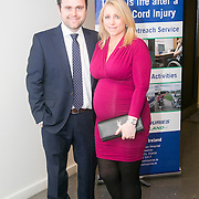 No Repro Fee<br /> 02/04/2015<br /> Pictured at the Spinal Injuries Ireland Lunch at the Marker Hotel, Dublin were<br /> Ger (left) and Liv McNaughton<br /> Pic: Alan Rowlette