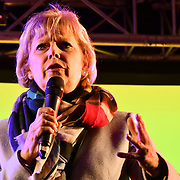 Anna Soubry attends People's vote to Stop Brexit rally due to Brexit vote in Parliament on 15 January 2019, London, UK