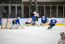 Slovenian Hockey during international tournament Euro ice hockey challenge on a friendly game with Hungary, on February 7, 2019 in Bled, Slovenia. Photo by Peter Podobnik / Sportida