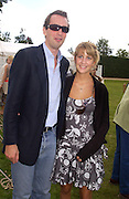 Fritz von Westenholz and Lady Shrimpy Balfour, Cartier Style Et Luxe, Goodwood, 27 June 2004. SUPPLIED FOR ONE-TIME USE ONLY-DO NOT ARCHIVE. © Copyright Photograph by Dafydd Jones 66 Stockwell Park Rd. London SW9 0DA Tel 020 7733 0108 www.dafjones.com