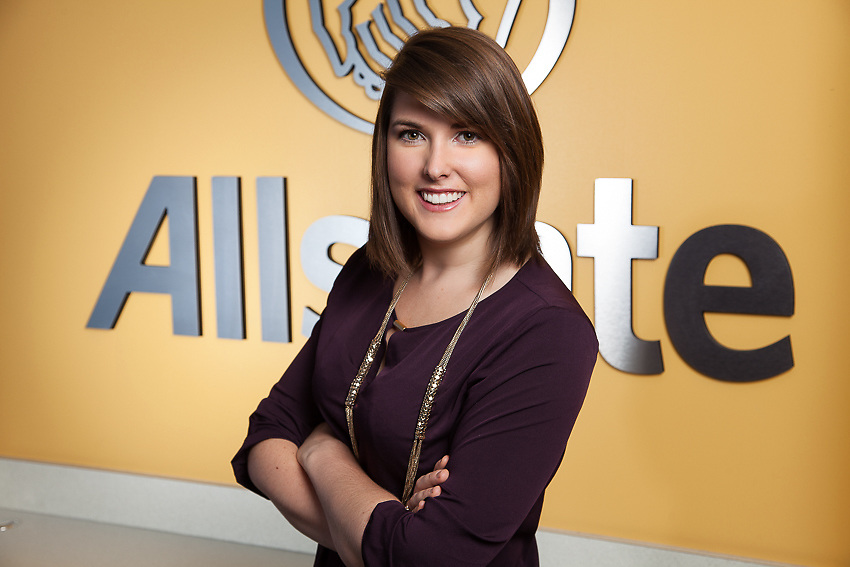Allstate Business Portraits for Linkedin