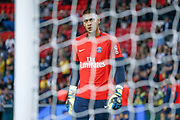Alphonse Areola (PSG) during the French championship L1 football match between Paris Saint-Germain (PSG) and Toulouse Football Club, on August 20, 2017, at Parc des Princes, in Paris, France - Photo Stephane Allaman / ProSportsImages / DPPI