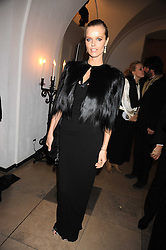 EVA HERZIGOVA at Chaos Point - a fashion show from Viienne Westwood's Gold Label Collection in aid of the NSPCC at The Banqueting House, London SW1 on 18th November 2008.