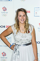 Katie Summerhayes, British Olympic Ball, Dorchester (Opal Room), London UK, 30 October 2013, Photo by Raimondas Kazenas