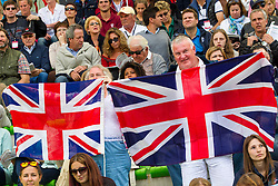 Supporter GBR - Team & Individual Competition Jumping Speed - Alltech FEI World Equestrian Games™ 2014 - Normandy, France.<br /> © Hippo Foto Team - Leanjo De Koster<br /> 02-09-14