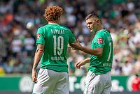 Fussball, Internationales Freundschaftsspiel, Saison 2019/2020,  SV Werder Bremen - FC Everton: Joshua Sargent (li) und Milot Rashica (re, beide SV Werder Bremen)