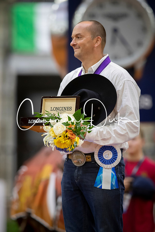 Podium Individual Final, Fonck Bernard<br /> World Equestrian Games - Tryon 2018<br /> © Hippo Foto - Dirk Caremans<br /> 15/09/2018