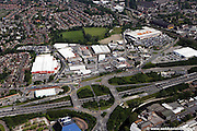aerial photograph of George's Rd<br /> Stockport SK4 1DN