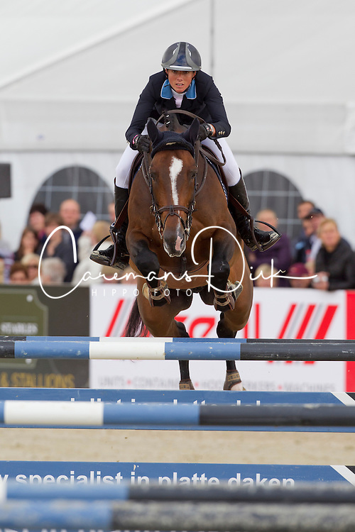 Van der Straten Cindy (BEL) - Sherman Sitte<br /> Grand Prix BMW Aalst 2011<br /> © Dirk Caremans