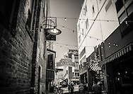 a view of Post Alley - Seattle, WA