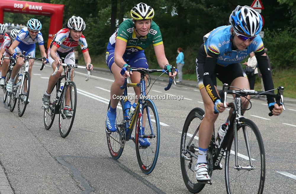 Ladiestour 2008 Limburg<br />Judith Arndt, Kirsten WIld, Martine Bras