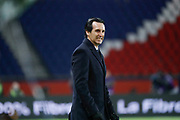 Tense face of Unai Emery (PSG) during the French Championship Ligue 1 football match between Paris Saint-Germain and ESTAC Troyes on November 29, 2017 at Parc des Princes stadium in Paris, France - Photo Stephane Allaman / ProSportsImages / DPPI