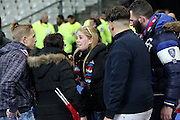 AT THE END OF THE MATCH , SCENES OF PANIC WHEN IT IS PART OF THE PUBLIC TO CONSOLIDATED CENTRAL LAWN WHILE THE AREA STADIUM ARE SECURED - WAVE OF ATTACKS A PARIS - STADE DE FRANCE REACTIONS WHEN FRANCE- MATCH GERMANY AS ATTACKS KAMIKAZE HAD HELD AROUND THE STADIUM .<br /> ©Exclusivepix Media