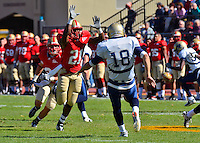 VMI football fends off Bucs, 21-17