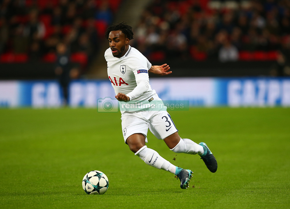 December 6, 2017 - London, England, United Kingdom - Tottenham Hotspur's Danny Rose..during the Champions  League Group G  match between Tottenham Hotspur and Apoel Nicosia at Wembley stadium , London, England on 6 Dec 2017. (Credit Image: © Kieran Galvin/NurPhoto via ZUMA Press)