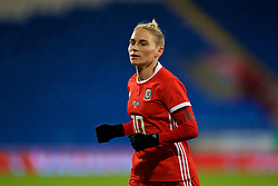 CARDIFF, WALES - Friday, November 24, 2017: Wales' Jessica Fishlock during the FIFA Women's World Cup 2019 Qualifying Round Group 1 match between Wales and Kazakhstan at the Cardiff City Stadium. (Pic by David Rawcliffe/Propaganda)