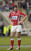 2006, Powergen Cup, Twickenham, Scarlets Captain, Simon Easterby, London Wasps vs Llanelli Scarlets, ENGLAND, 09.04.2006, 2006, , © Peter Spurrier/Intersport-images.com.   [Mandatory Credit, Peter Spurier/ Intersport Images].