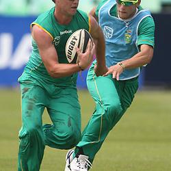 AB de Villiers during Day 4 of the second Sunfoil Test Match South Africa v Sri Lanka in Durban Thursday  December 29,  at Sahara Stadium Kingsmead <br /> <br /> Photography: Steve Haag