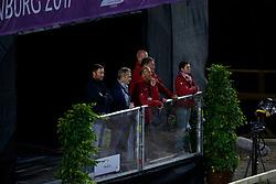 Krumhoff, Jobst (GER);<br /> Theodorescu, Monica (GER);<br /> Hilberath, Jonny (GER) <br /> Göteborg - European Championships 2017<br /> © www.sportfotos-lafrentz.de/Stefan Lafrentz