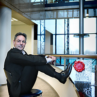 Nederland, Amsterdam , 7 november 2011..Fred Zegers van Telegraaf Media Groep is winnaar van de Data Quality Award.Foto:Jean-Pierre Jans