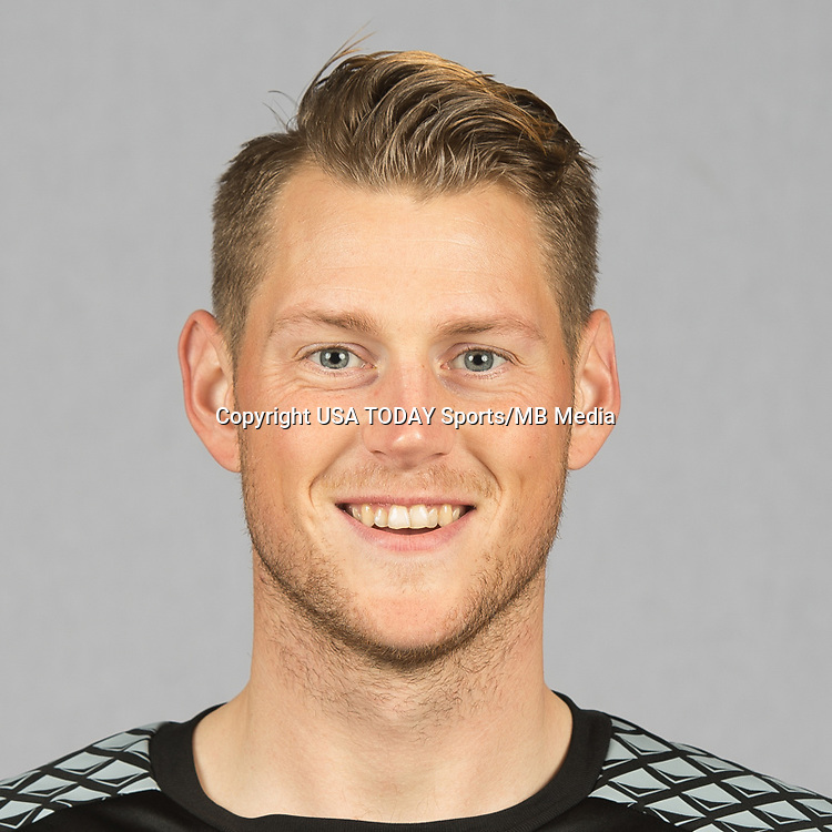 Feb 25, 2016; USA; San Jose Earthquakes player Bryan Meredith poses for a photo. Mandatory Credit: USA TODAY Sports