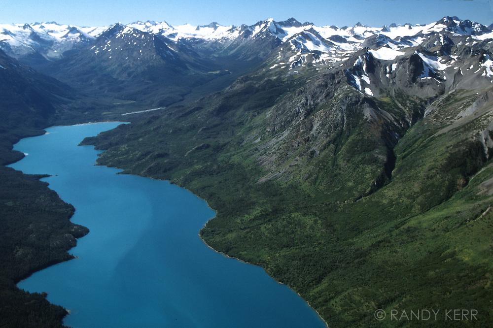 Franklin Arm of Chilko Lake