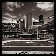 iPhone Instagram of Target Field in Minneapolis, Minnesota on August 24, 2014