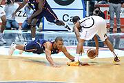 DESCRIZIONE : Caserta Lega serie A 2013/14  Pasta Reggia Caserta Acea Virtus Roma<br /> GIOCATORE : jordan taylor<br /> CATEGORIA : equilibrio curiosità<br /> SQUADRA : Acea Virtus Roma<br /> EVENTO : Campionato Lega Serie A 2013-2014<br /> GARA : Pasta Reggia Caserta Acea Virtus Roma<br /> DATA : 10/11/2013<br /> SPORT : Pallacanestro<br /> AUTORE : Agenzia Ciamillo-Castoria/GiulioCiamillo<br /> Galleria : Lega Seria A 2013-2014<br /> Fotonotizia : Caserta  Lega serie A 2013/14 Pasta Reggia Caserta Acea Virtus Roma<br /> Predefinita :