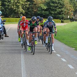 30-08-2018: Wielrennen: Ladies Tour: Gennep<br />kopgroep met o.a. Natalie van Gogh