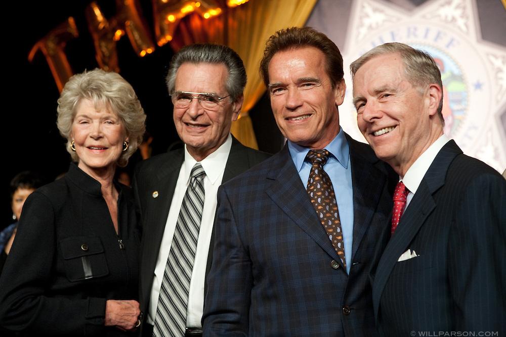 Loise and Bill Kolender, Governor Arnold Schwarzenegger and former governor Pete Wilson