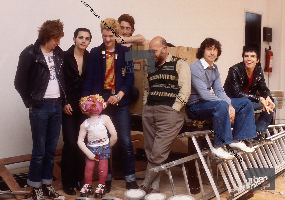 The Damned with Lol Coxhill an Pink Floyd